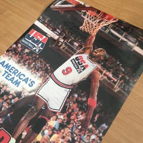 Pôster Vintage - Michael Jordan America