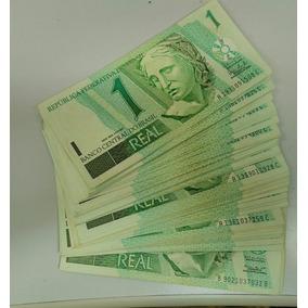 Cédulas De R$ 1,00 Sequenciadas -dezena