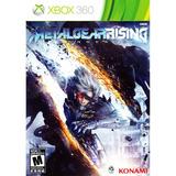 Juego Metal Gear Rising Xbox 360 Usado Original