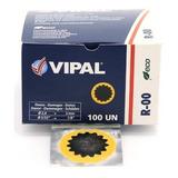 Remendo Para Câmara De Ar R-00 Com 100 Unidades - Vipal