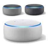 Amazon Echo Dot 3a Gen Alexa 100% Español Envio Inmediato