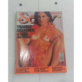 Revista Sexy 262 Out 2001 Thammy Gretchen 25