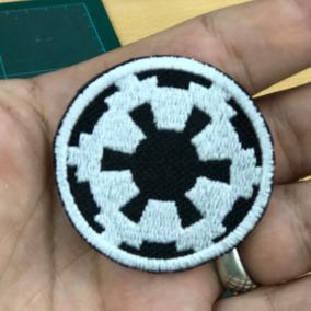 Parche Star Wars Del Imperio Galactico Con Abrojo De 5x5cm