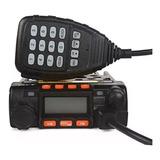 Rádio Comunicador Móvel Dual Band Veiculo 25w Vhf / Uhf