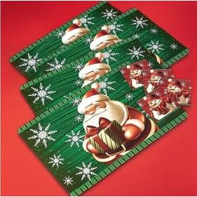 Regalo Navidad Económico - Mantel Individual Y Posavaso