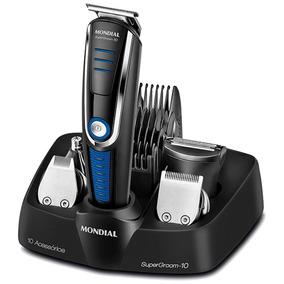 Barbeador Mondial Super Groom 10 Bg-03 10 Em 1 Cabelo, Barba