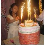 Oferta Vela Bengala Cumpleaños, Matrimonios Set 6 Unidade