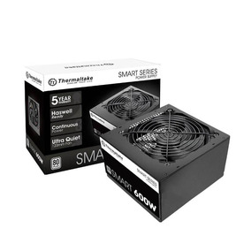 Fonte Thermaltake 600w 8o Plus White Smart Series Ps-spd-060