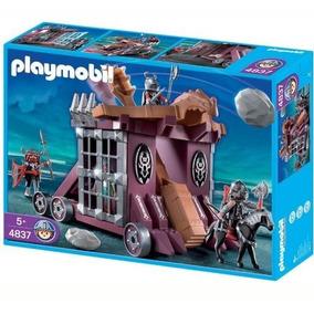Playmobil 4837 Catapulta Prisao Gigante Medieval