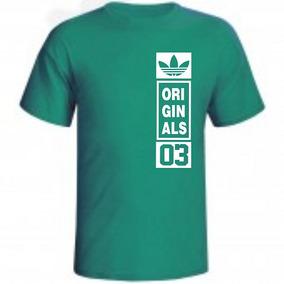 Camiseta adidas 03 Quadrado Personalizada Varias Cores aab8586a1ada4