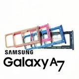 Gaveta Slot Dual Chip Samsung A750 A7 2018