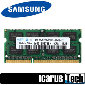 Memoria Laptop 4gb 2rx8 Ddr3 1066mhz Pc3-8500s 204pin Sodimm