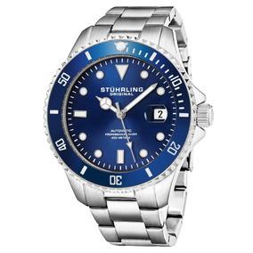 Reloj Stuhrling Automatico 42mm Acero / Azul 792.02