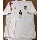 Camisa Sele O Inglaterra 2005 Home Umbro - Camisas de Futebol no ... d4ede5732cd01