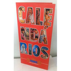 Calendários Probus Folder Catálago De 1987
