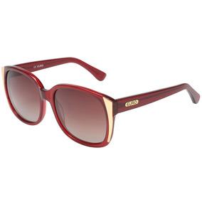 076a914779cc2 Óculos Euro Vinho Feminino - Oc127eu 8r Original Loja Fisica