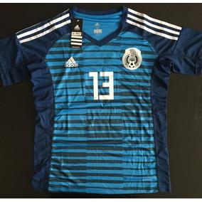 Impresionante Jersey Portero Arquero Mexico Azul Memo Ochoa a9efdc952381e