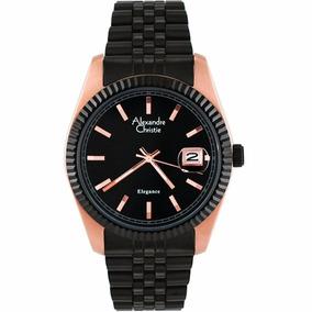 Reloj Alexandre Christie Elegance Date 5001mdbbrba Original