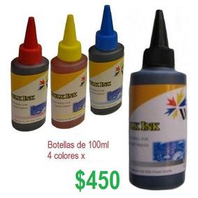 Kit De Tinta 100ml 4 Colores
