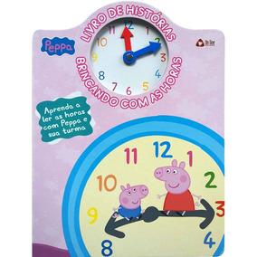 Peppa - Livro De Histórias Brincando Com As Horas