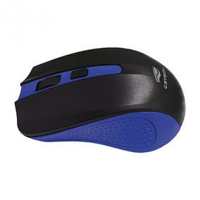 Mouse Sem Fio C3tech Wireless M-w20bl Azul Usb 2.4ghz