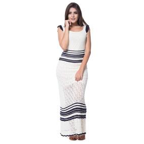 Vestido Longo Cassiane Tricot Pokaropa 2e831b68325