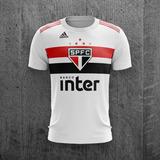Camiseta Do São Paulo Oficial Personalizada no Mercado Livre Brasil 578534fe8487a