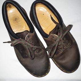 Dr Martens Ingles Uk 5. 4 Mx Zapato Oxford Piel Cafe