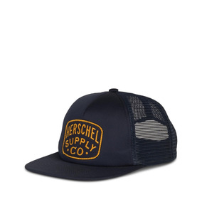 Gorra Herschel Supply Whaler Mesh Patch Peacoat