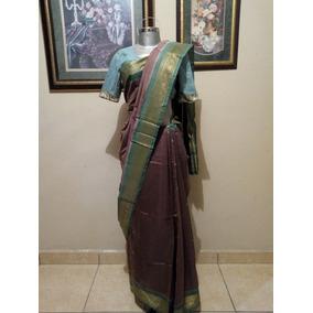 Saree Hindu, Sari Tradicional Hindu, Incluye Blusa 32b