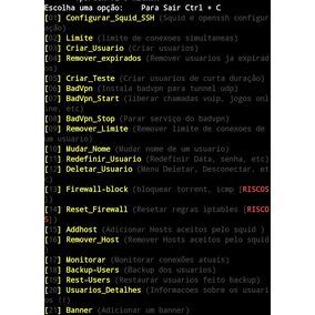 Script Ssh Para Gerência Servidores Vps