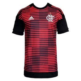 Camisa Flamengo Pré-jogo adidas 2018