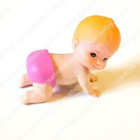 Bebé De Juguete A Cuerda Gatea De Verdad