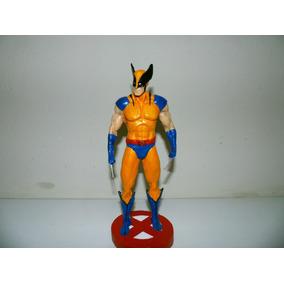 Figura Em Ação Do Wolverine E Deadpool Em Resina Escala