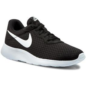Tenis Nike Mujer Tanjun Negro 100% Original 812655-011