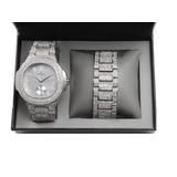 Bling-ed Out - 8475b Set De Regalo De Reloj En Caja De Metal