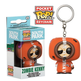 Funko Pop! Chaveiro - South Park Zombie - Kenny