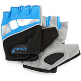 Luva Para Musculação Esportiva Azul M A43 Acte
