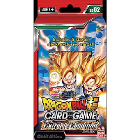 Dragon Ball Super Tcg Starter Mazo Cartas Extreme Evolution