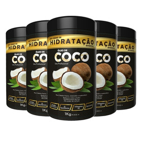 5 Unid Hidratação Coco 1kg Ix1975