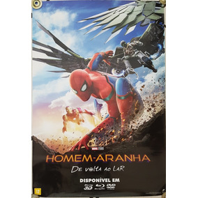 Homem-aranha De Volta Ao Lar Pôster Cartaz 93x63 Cm