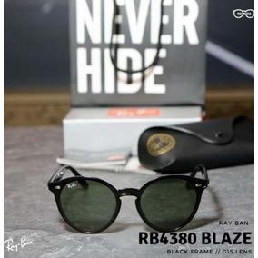 918d949560a76 Ray Ban Blaze Round Marrom Outros - Óculos De Sol Com proteção UV no ...