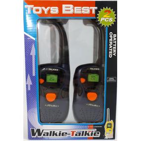 Radio Comunicador Walkie Talkie Infantil A Pilha