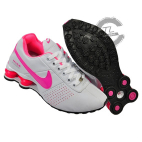 Nike Shox Feminino 35 Tamanho 37 - Tênis 37 Branco no Mercado Livre ... c6bddc36d0831