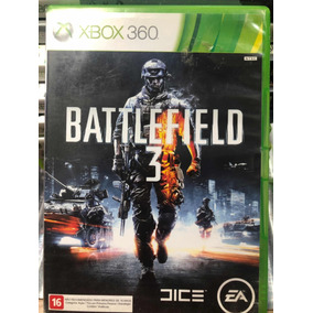 Jogo Battlefield 3 Xbox 360 Semi Novo Original