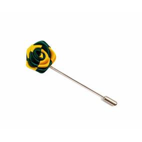 Fistol Flor Bicolor Pin Para Camisa Varios Colores 347