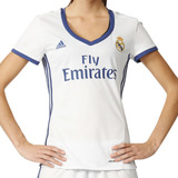 Jersey Local Real Madrid 16/17 Mujer adidas Full Ai5188