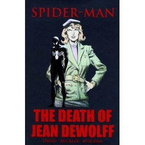 Homem-aranha A Morte De Jean Dewolff Hc Capa Dura