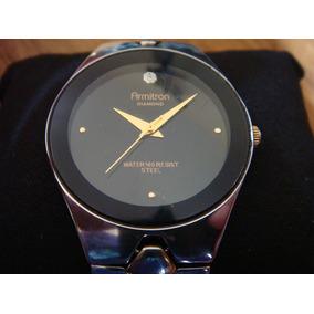 Elegante Reloj Armitron Serie Diamond.... Acero Inox.100%