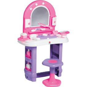 Penteadeira Infantil Calesita Miss Glamour - Rosa/lilás